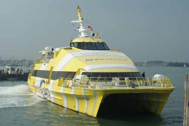FastCat Ryde in Portsmouth Harbour