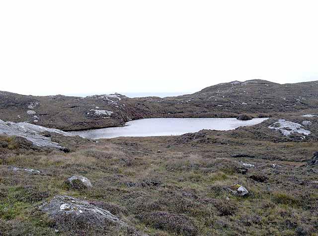 Lochan near Rodel
