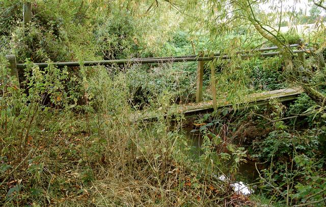 Footbridge over River Leam (2)