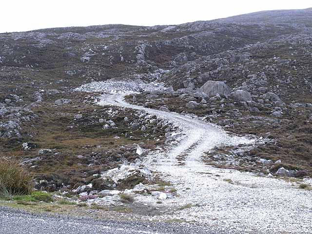 Quarry access road