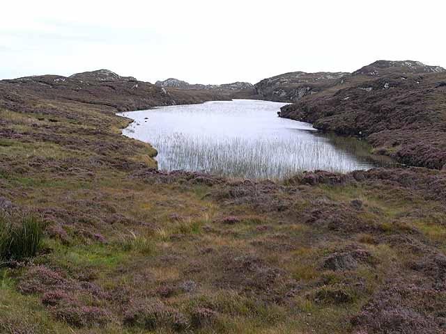 Lochan near Loch Langabhat