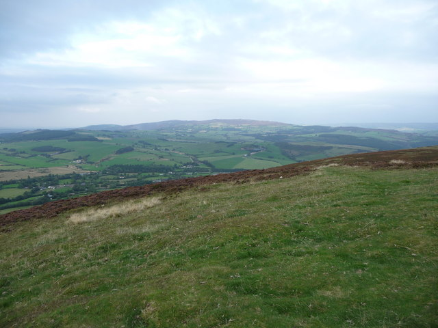 Stiperstones ridge from Corndon Hill