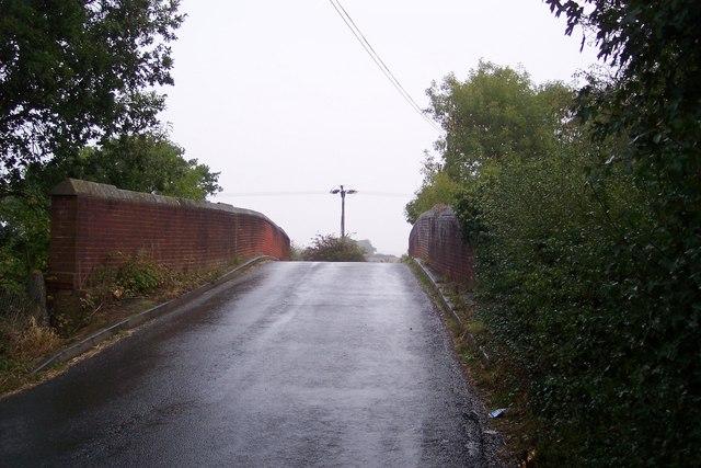 Water Lane roadbridge over the railway