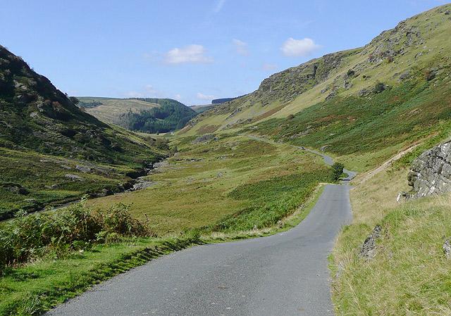 Cwm Irfon north-west of Abergwesyn, Powys