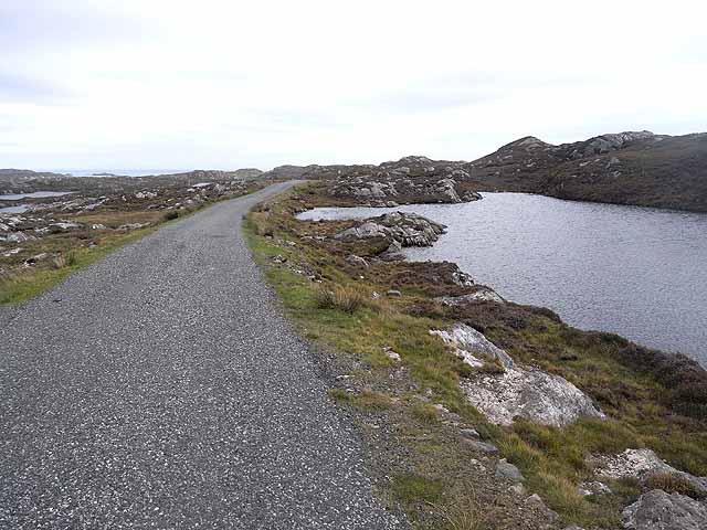 Lochan near Loch a'Gheòidh