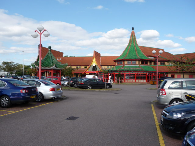 The Wing Wah Chinese restaurant, Nechells, Birmingham