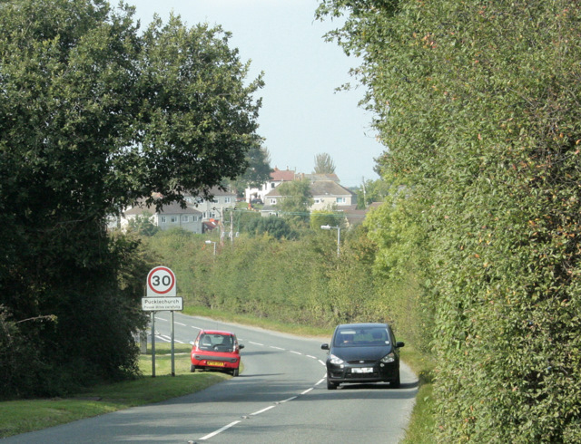 2009 : Pucklechurch, the southern approaches