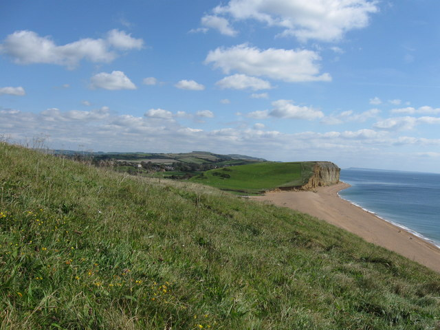 View from the coast path near Burton Freshwater,  Dorset