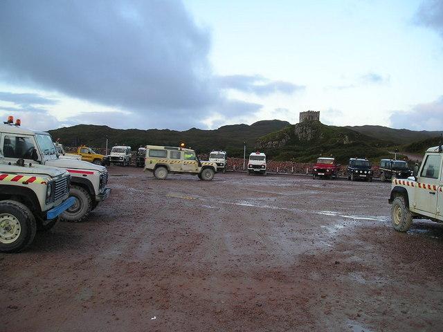 Quarry car park Glensanda