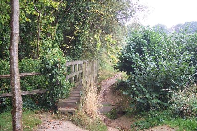 Footbridge near Sissinghurst