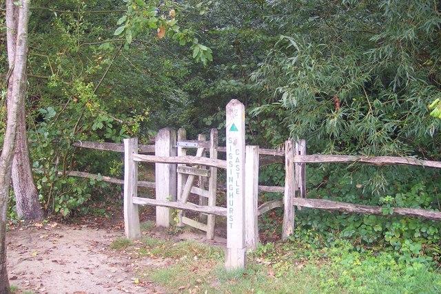 Footpath to Sissinghurst Castle