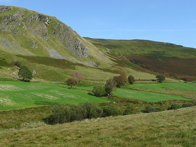 Cwm Tywi north of Llyn Brianne, Powys