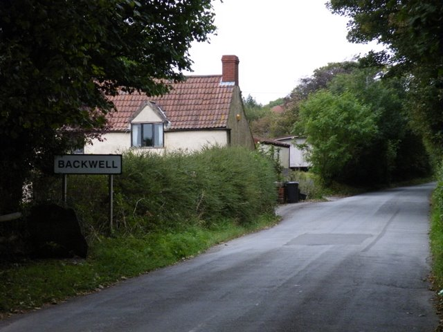 The road to Backwell