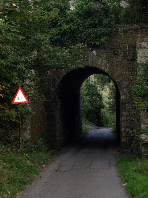 Road bridge under the B4251-Wattsville Gwent
