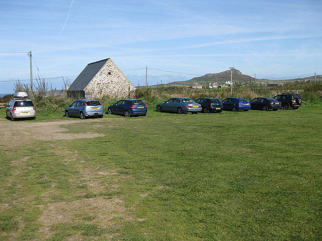 Upper car park, Rhosson Farm