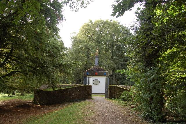 Naval Temple at the Kymin  near Monmouth