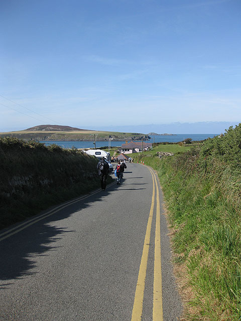 End of the road to St Justinian