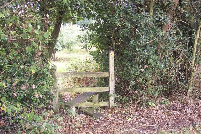 Stile on High Weald Landscape Trail