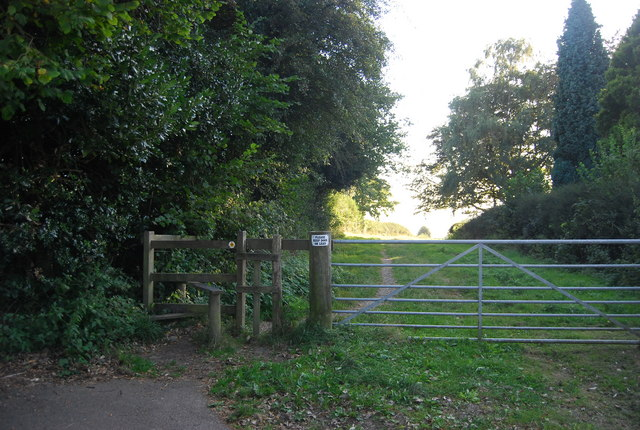 Stile on the Greensand Way, Ide Hill