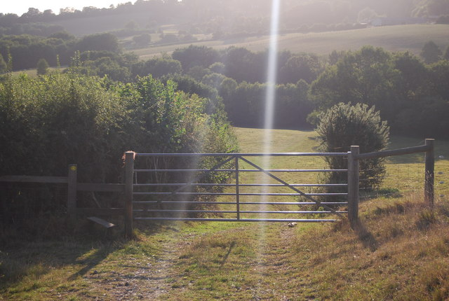 Stile & Gate on the Greensand Way