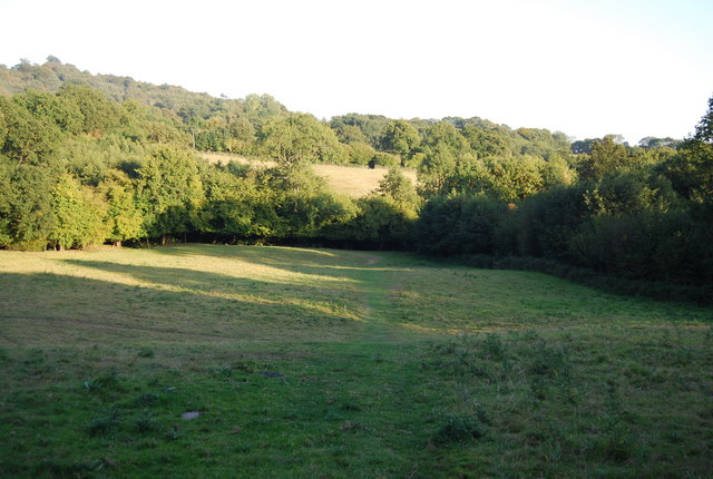 The Greensand Way near Ide Hill