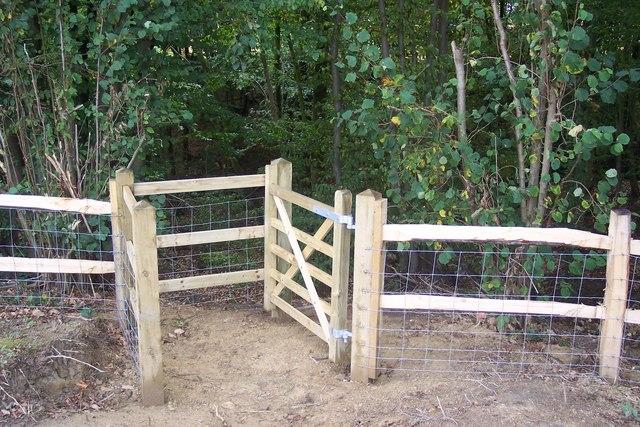 Kissing Gate on High Weald Landscape Trail