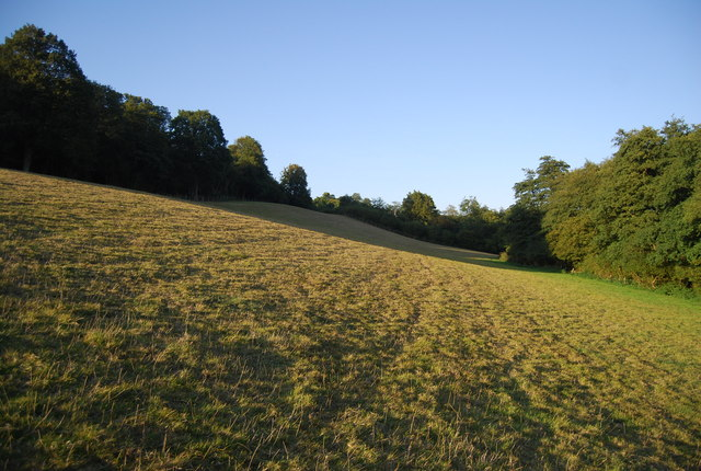 Field by the Greensand Way