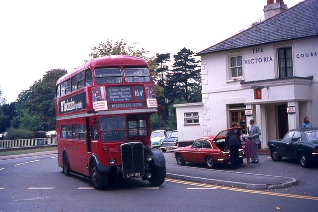 London Transport RT bus at Banstead Victoria