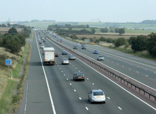 2009 : M4 Motorway eastbound
