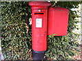 TL7205 : Tabors Hill Postbox by Adrian Cable