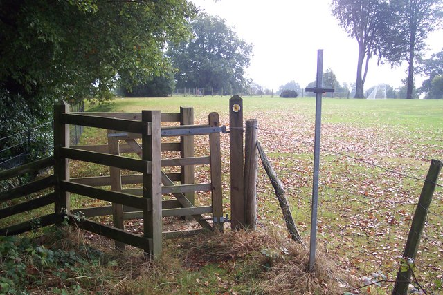 Kissing Gate on High Weald Landscape Trail