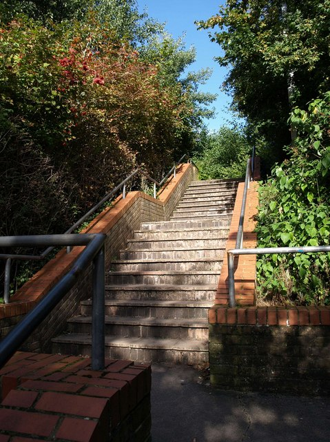 Steps to Wren Park
