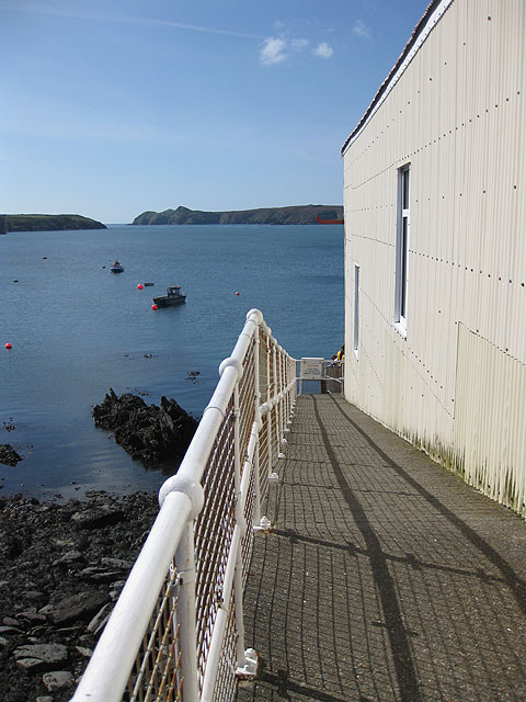 Ramsey Sound from the lifeboat station