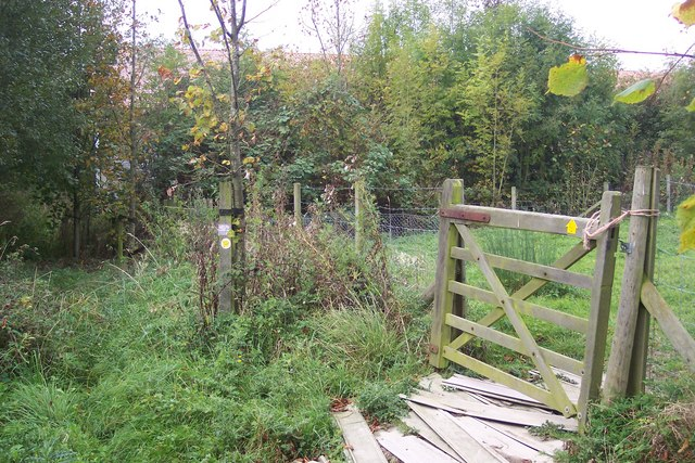Footpath diversion around The Moat