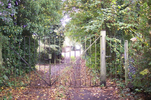 Gate near The Moat