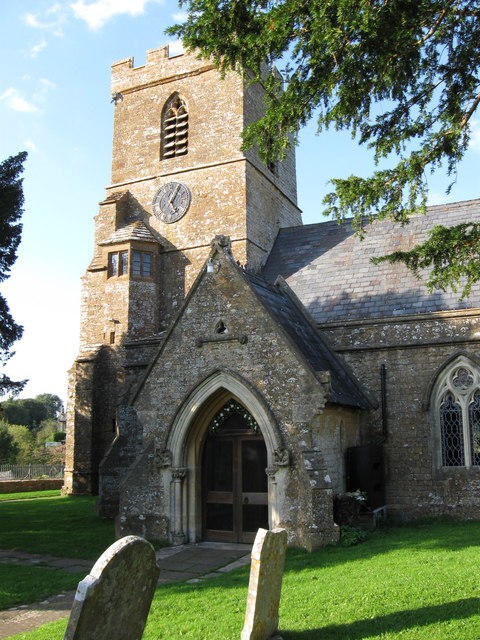 South porch of St. Mary's church,  Powerstock, Dorset