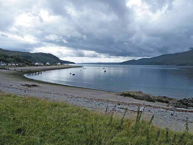 Glenelg Bay and the Sound of Sleat