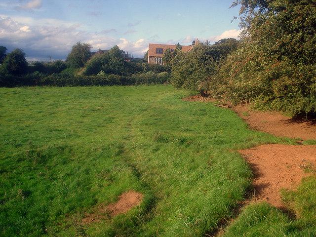 Public footpath to Normanton le Heath