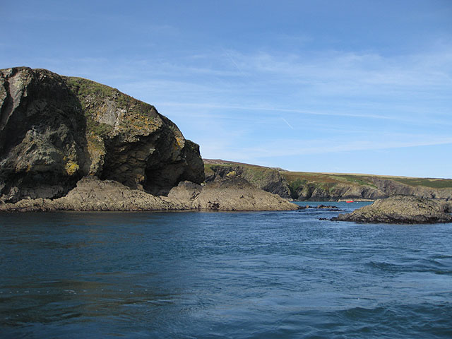 East coast, Ramsey Island