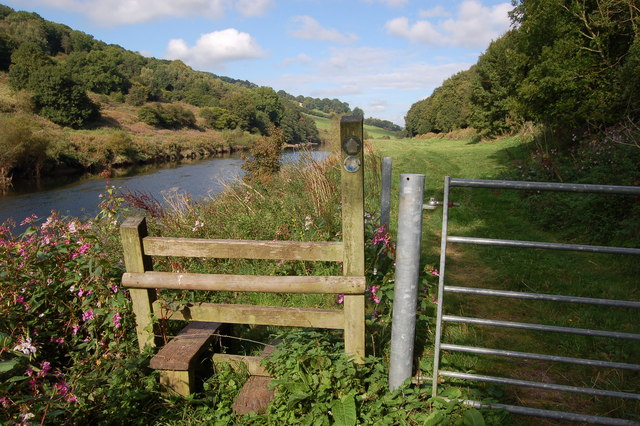 Wye Valley Walk near Redbrook