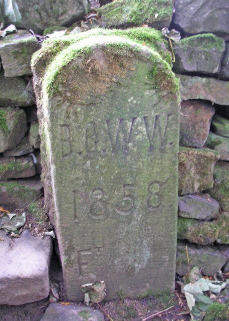 Waterworks marker
