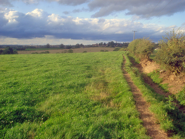 Footpath to Normanton le Heath