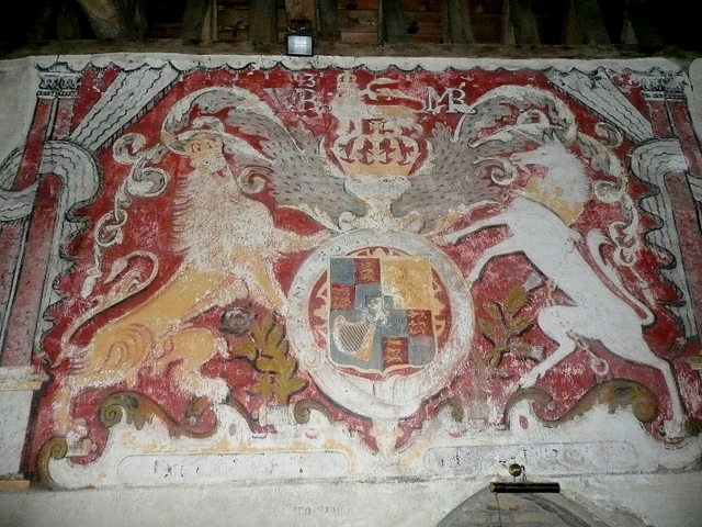 St. Nicholas' church, Teddington - mural
