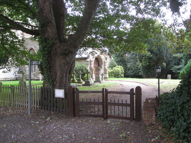 Willoughby - St. Helena's Church and Footpath