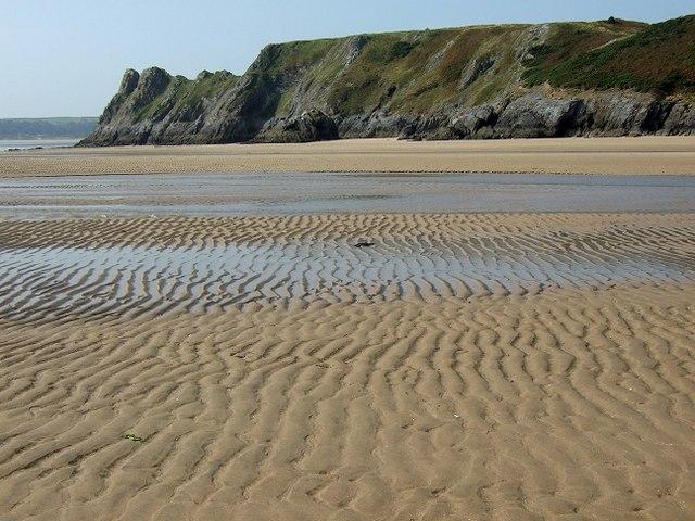 Pennard Pill & Three Cliffs Bay