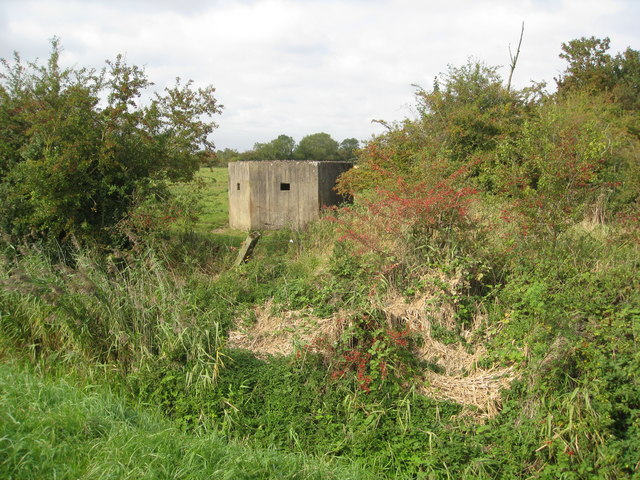 Pillbox off Sloothby High Lane