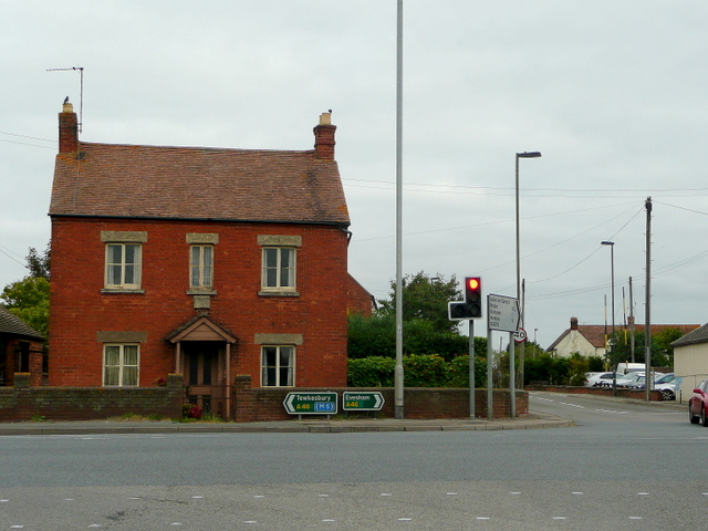 Brick cottage at Aston Cross