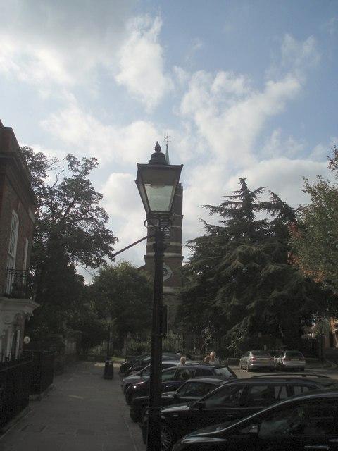Gas Lamp - Church Row