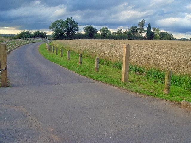 Entrance to Upper Fields