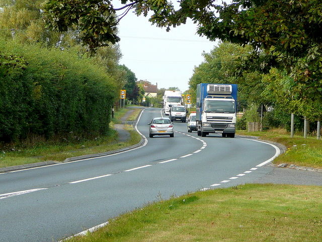 The A46 at Beckford